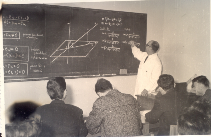 THE HISTORY OF THE DEPARTMENT OF MATHEMATICS