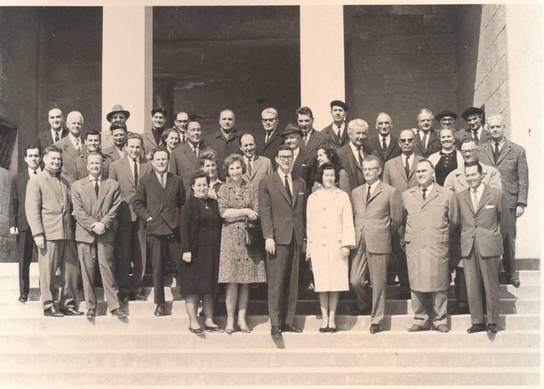 Djelatnici Pedagoške akademije sredinom 60-ih godina prošloga stoljeća